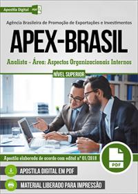 Analista - Área: Aspectos Organizacionais Internos - APEX-BRASIL