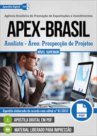 Analista - Área: Prospecção de Projetos - APEX-BRASIL