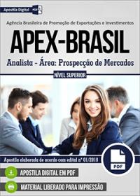 Analista - Área: Prospecção de Mercados - APEX-BRASIL