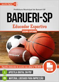 Educador Esportivo - Prefeitura de Barueri - SP