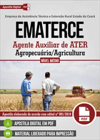 Agente Auxiliar de ATER - Agropecuária-Agricultura - EMATERCE - CE