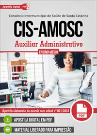 Auxiliar Administrativo - CIS-AMOSC