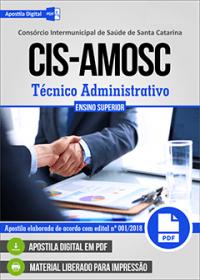 Técnico Administrativo - CIS-AMOSC