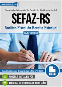 Auditor-Fiscal da Receita Estadual - SEFAZ - RS