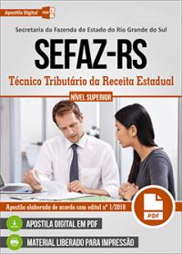 Técnico Tributário da Receita Estadual - SEFAZ - RS