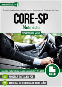Motorista - CORE - SP
