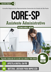 Assistente Administrativo - CORE - SP