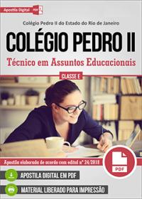 Técnico em Assuntos Educacionais - Colégio Pedro II