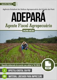 Agente Fiscal Agropecuário - ADEPARÁ