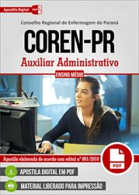 Auxiliar Administrativo - COREN - PR