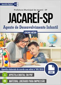 Agente de Desenvolvimento Infantil - Prefeitura de Jacareí-SP