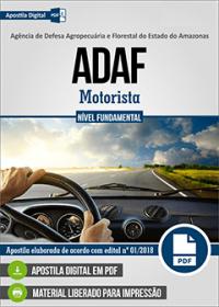 Motorista - ADAF-AM