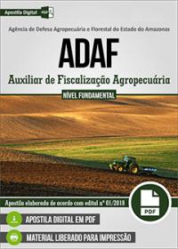 Auxiliar de Fiscalização Agropecuária - ADAF-AM
