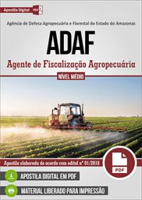 Agente de Fiscalização Agropecuária - ADAF-AM