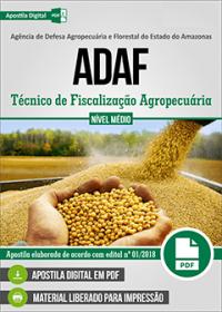 Técnico de Fiscalização Agropecuária - ADAF-AM
