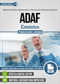 Estatístico - ADAF-AM