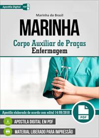 Corpo Auxiliar de Praças - Enfermagem - Marinha do Brasil