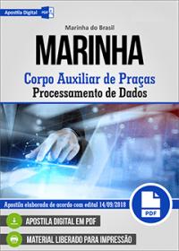 Corpo Auxiliar de Praças - Processamento de Dados - Marinha do Brasil