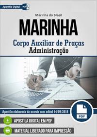 Corpo Auxiliar de Praças - Administração - Marinha do Brasil