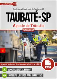 Agente de Trânsito - Prefeitura de Taubaté - SP