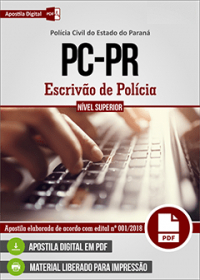 Escrivão de Polícia - Polícia Civil - PR