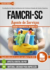 Agente de Serviços - FAMCRI-SC