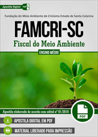 Fiscal do Meio Ambiente - FAMCRI-SC