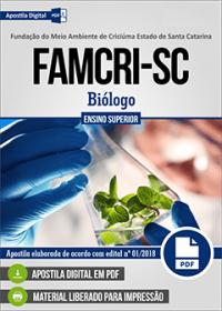 Biólogo - FAMCRI-SC
