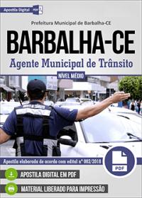 Agente Municipal de Trânsito - Prefeitura de Barbalha - CE