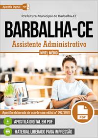 Assistente Administrativo - Prefeitura de Barbalha - CE