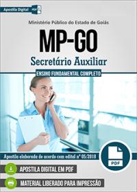 Secretário Auxiliar - Ministério Público - GO