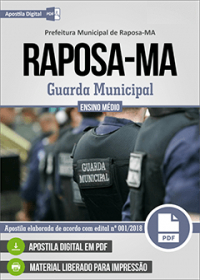 Guarda Municipal - Prefeitura de Raposa - MA