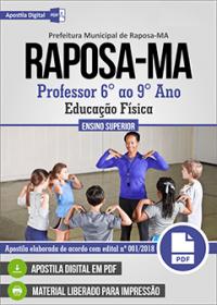 Professor - Educação Física - Prefeitura de Raposa - MA