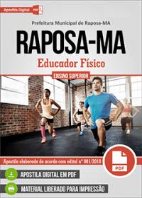 Educador Físico - Prefeitura de Raposa - MA