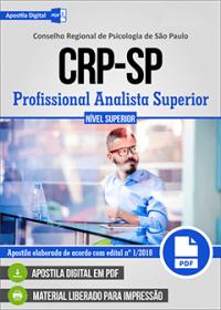 Profissional Analista Superior - CRP-SP