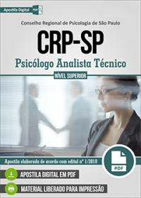Profissional Analista Técnico - CRP - SP