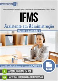 Assistente em Administração - IFMS