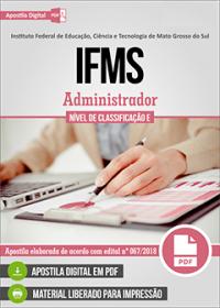 Administrador - IFMS