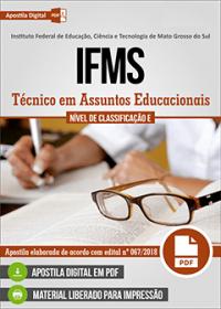 Técnico em Assuntos Educacionais - IFMS