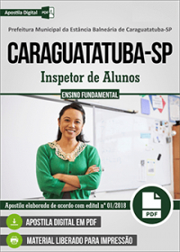 Inspetor de Alunos - Prefeitura de Caraguatatuba - SP