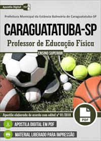 Professor de Educação Física - Prefeitura de Caraguatatuba - SP