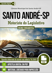 Motorista do Legislativo - Câmara de Santo André - SP