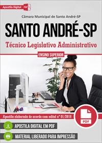 Técnico Legislativo Administrativo - Câmara de Santo André - SP