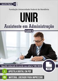 Assistente em Administração - UNIR