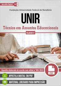 Técnico em Assuntos Educacionais - UNIR
