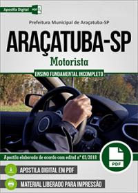 Motorista - Prefeitura de Araçatuba - SP