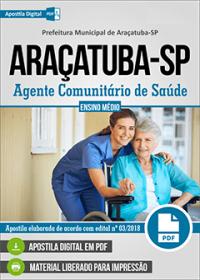 Agente Comunitário de Saúde - Prefeitura de Araçatuba - SP