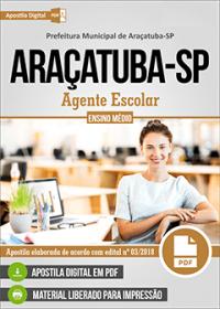 Agente Escolar - Prefeitura de Araçatuba - SP