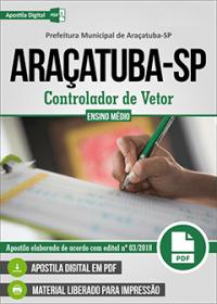 Controlador de Vetor - Prefeitura de Araçatuba - SP