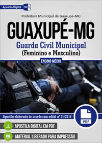 Guarda Civil Municipal - Prefeitura de Guaxupé - MG